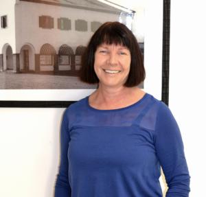 Portrait von Elke Sailer, stv. Pflegedienstleistung Christliches Sozialwerk e.V.