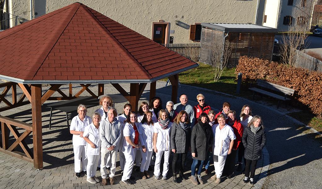 Teambild Pflegedienst Tagespflege Christliches Sozialwerk Raubling